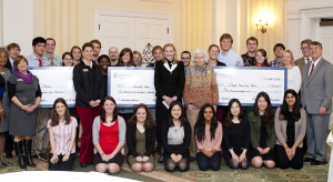 UMW's philanthropy class awarded more than $10,000 in grants to three Fredericksburg-area organizations
