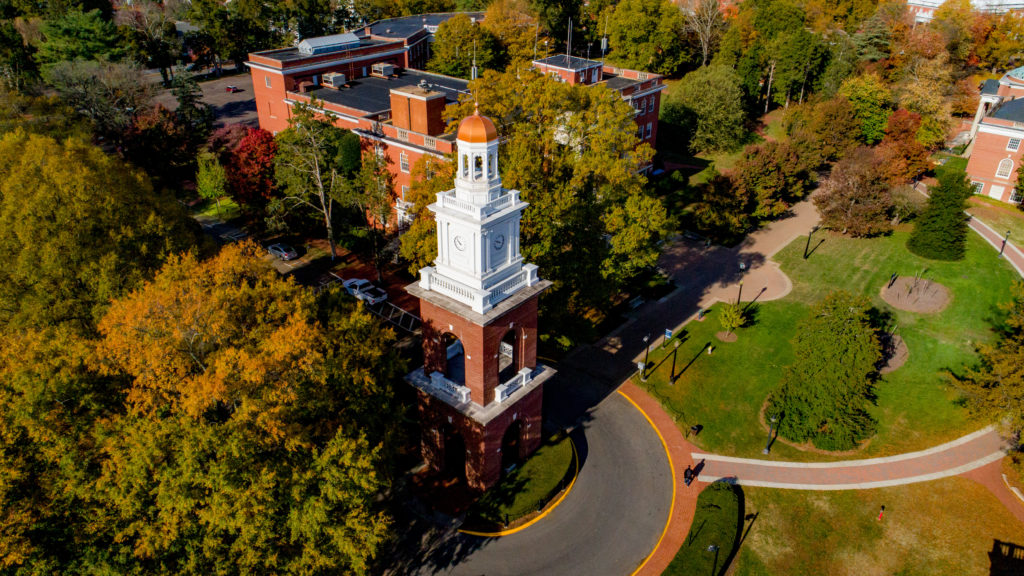 Transfer to UMW today to experience the beautiful campus and Bell Tower.