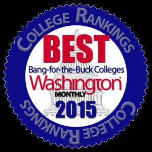 Washington Monthly Ranking Button