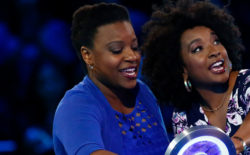 Shana Muhammad '06 and cousin Jakia Muhammad won big on a recent episode of The Wall.