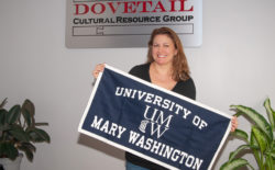 Kerri Barile'94, is co-owner of Dovetail, based in Fredericksburg.