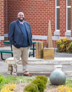 Since 2015, Robinson has taught history at the Virgie Binford Education Center inside the Richmond Juvenile Detention Center. He's committed to ensuring that all students have access to a quality education and a second chance.