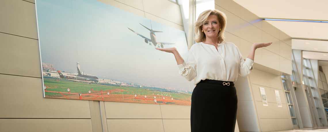 Air traffic controller Natalie Smith turned to UMW to earn first a BLS and now an MBA to take her career to new heights.
